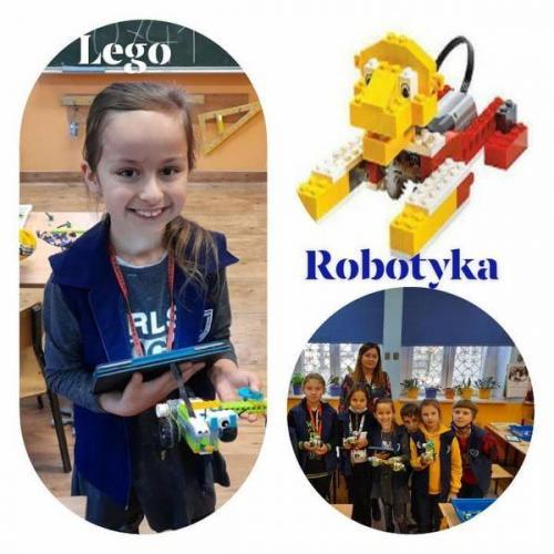LEGO -Robotyka Nauczyciel Joanna Wasylkiewicz Poniedziałek 13.40-15.10 Wtorek 15.30-16.05 Środa 15.30-16.05 Czwartek 14.30-16.00 Wszystkie zajęcia odbywają się w SP Nr 2.