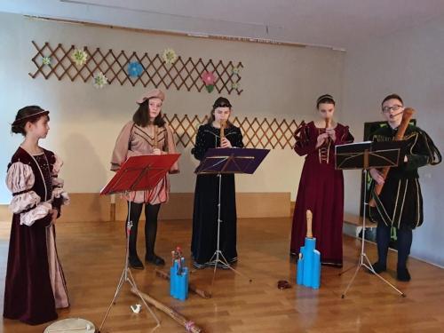 Audycja muzyczna w Szkole Podstawowej nr 6 w dniu 7 lutego 2020 r.